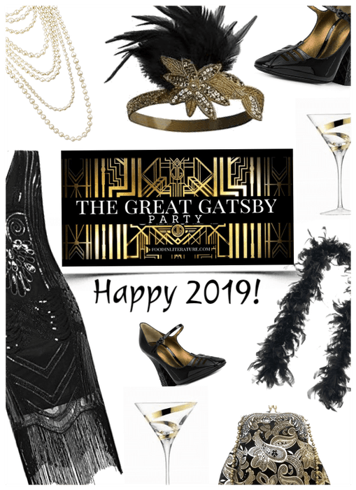 Great gastby new years eve party theme