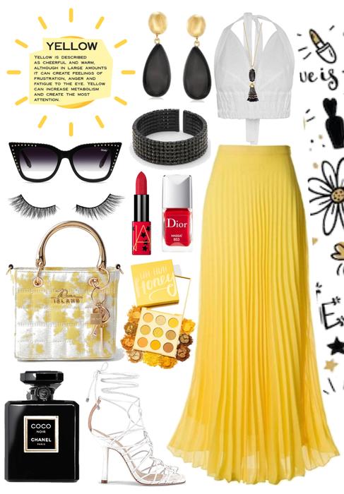 •Yellow Spring Glam•