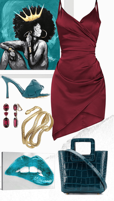 For the love of Burgundy & Teal