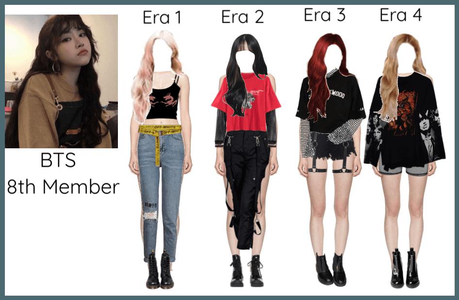 BTS 8th Member Through 4 Era's