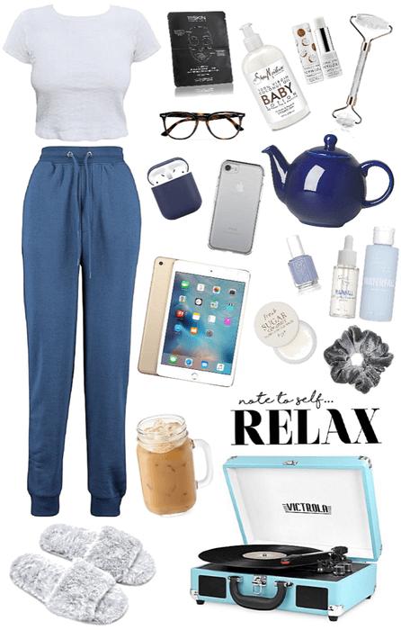 Blue Lounge wear