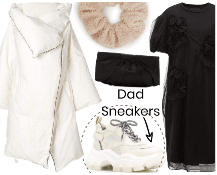 Dad Sneakers - how to style them