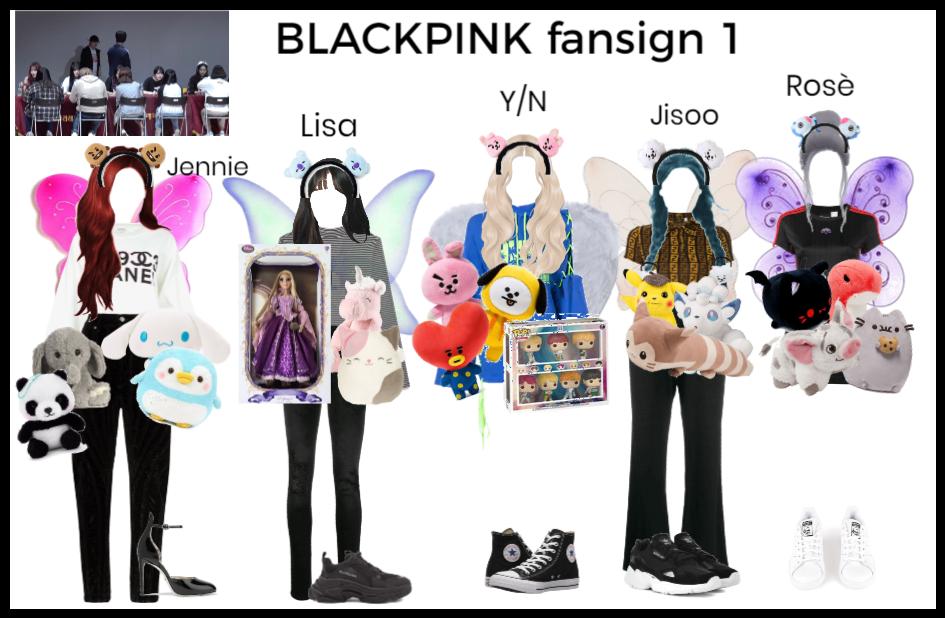 BLACKPINK fansign pt 1