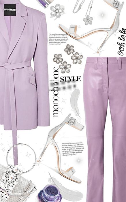 lilac girl chic