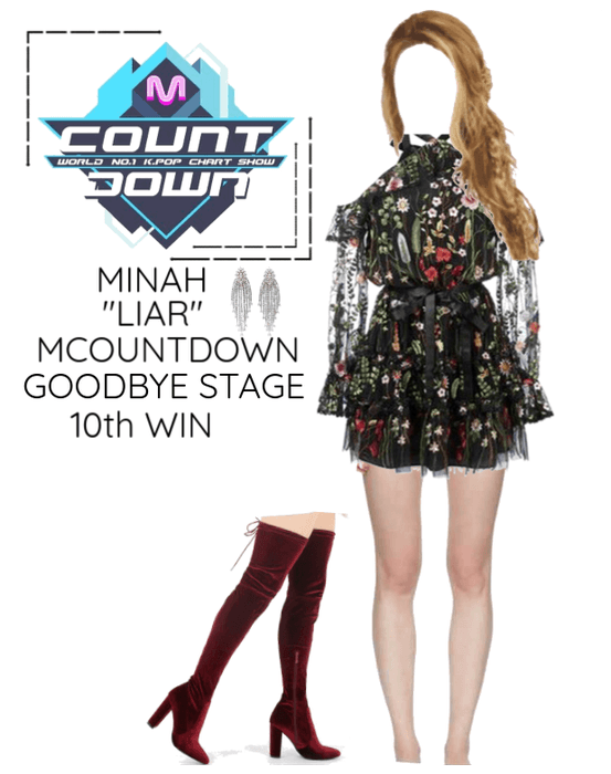 "Minah - ""LIAR"" MCOUNTDOWN & Goodbye Stage"