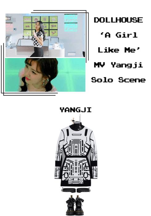 {DOLLHOUSE} 'A Girl Like Me' MV Yangji Solo Scene