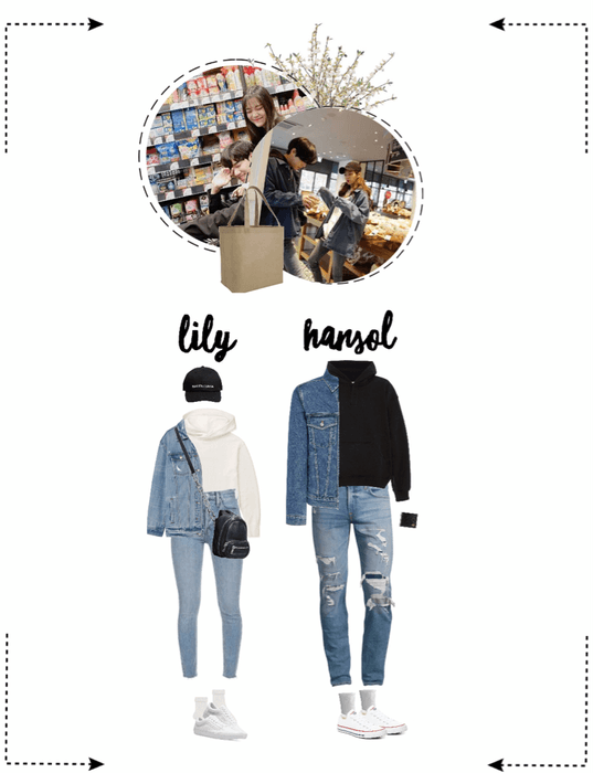 〖Lily&Hansol〗 Grocery Shopping In Korea