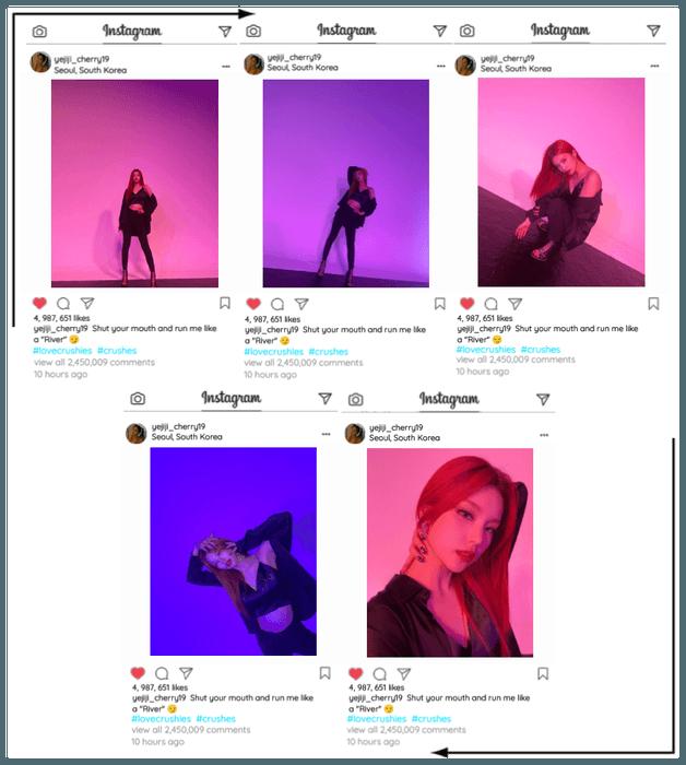 Crushes (호감) [Yeji] Instagram Update/Post