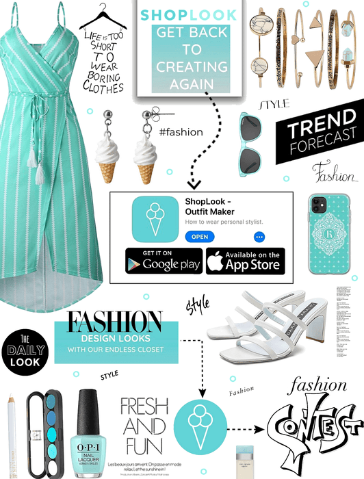 All About ShopLook. Fashion,styling,create