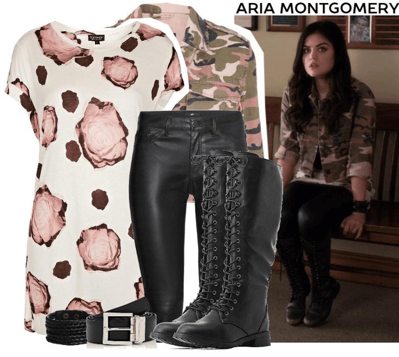 Aria Montgomery Style Season 4