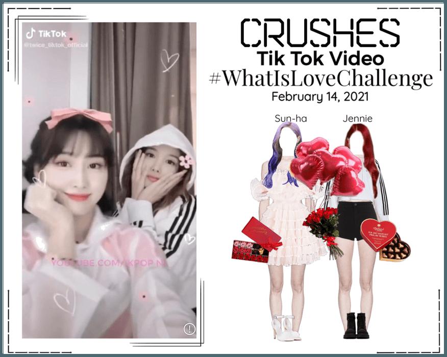 Crushes (호감) [Sun-ha & Jennie] TikTok Challenge