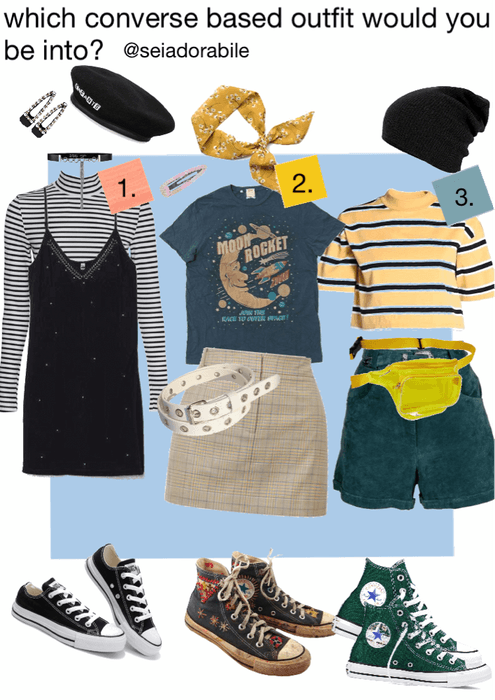 which converse outfit would you be into?