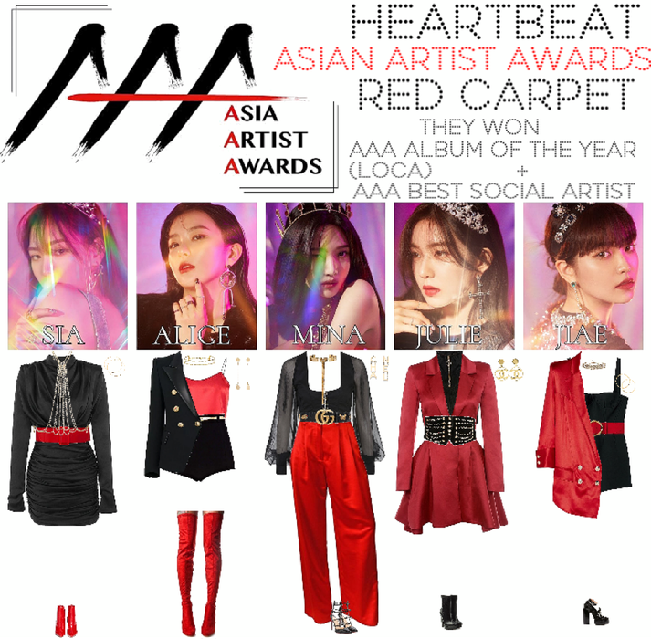 [HEARTBEAT] ASIAN ARTIST AWARDS | RED CARPET
