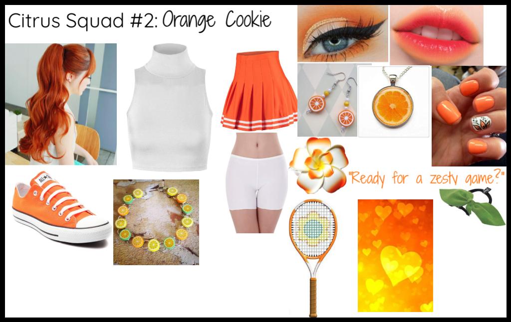 Citrus Squad #2: Orange Cookie