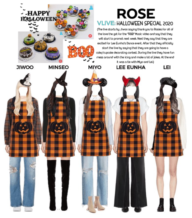 {RoSE} VLive Halloween Special 2020