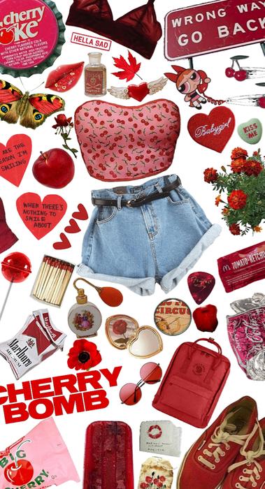 Cherry Bomb, Feel it Yum...💣🍒🤤