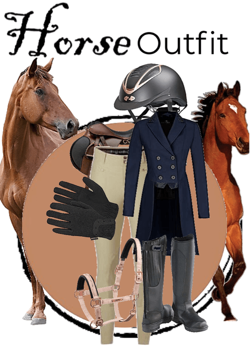horse outfit!!!