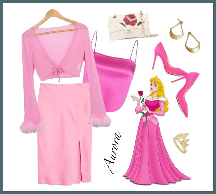 Aurora outfit - Disneybounding - Disney