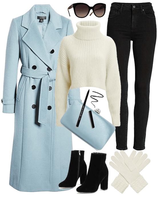 WINTER 2020: Pastel Coat Style