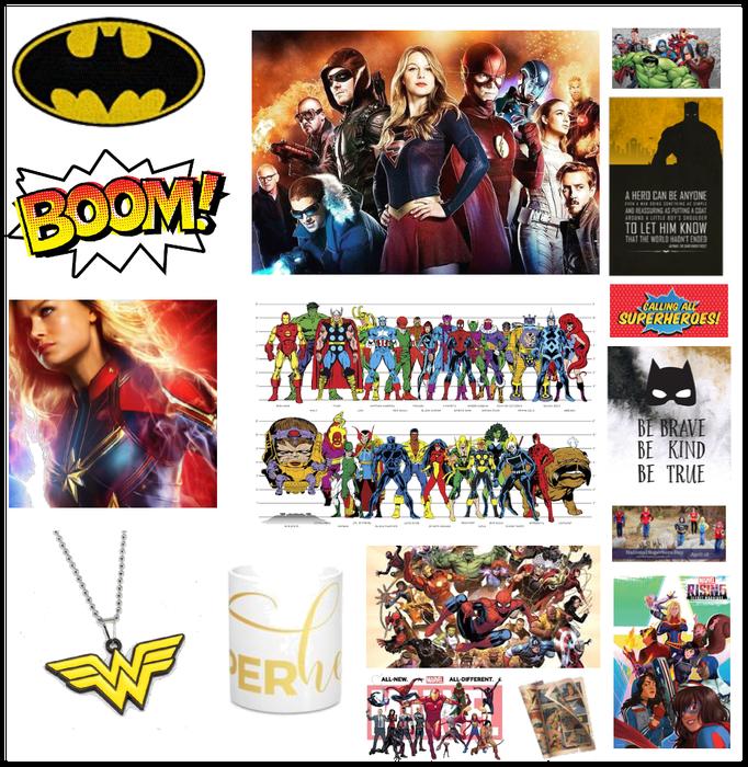 hero collage