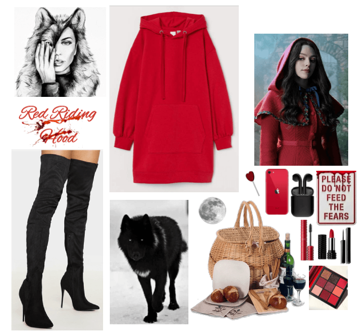 Modern Red Riding Hood 🐺