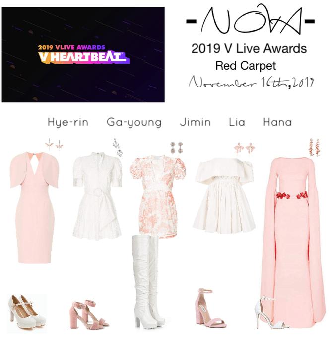 -NOVA- 2019 V Live Awards Red Carpet