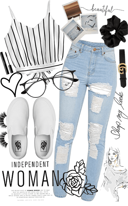 omg I would totally wear this outfit!! I added three items from my contest!! 💕💕