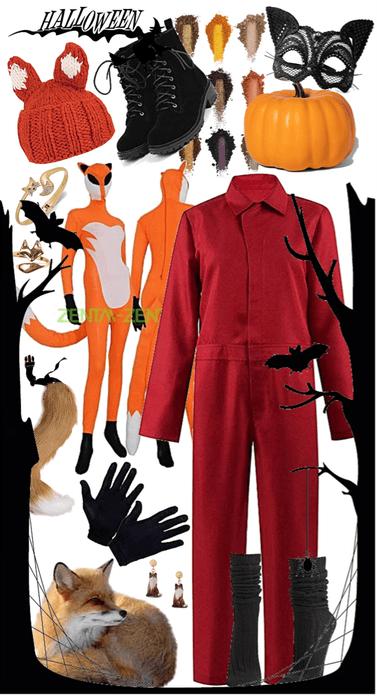 Foxy DIY Costume