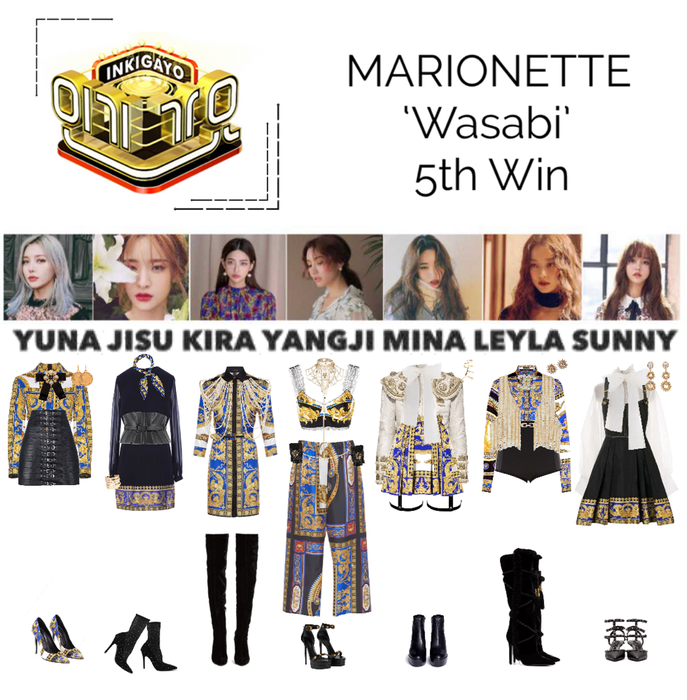 {MARIONETTE} Inkigayo Stage 'Wasabi'