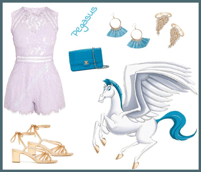 Pegasus outfit - Disneybounding