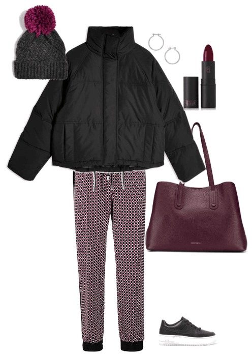 Winter shopping outfit