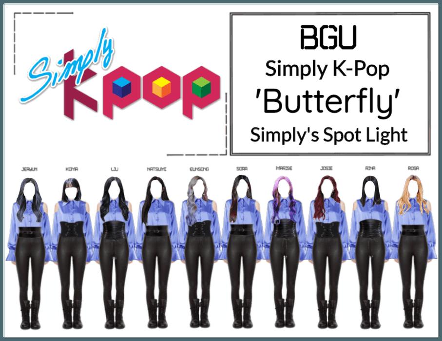BGU Simply K-Pop 'Butterfly'