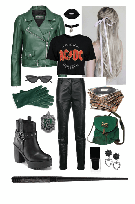 slytherin music student