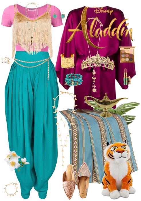 Aladdin Jasmine Disney Bound