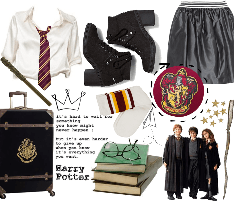Harry Potter inspired style
