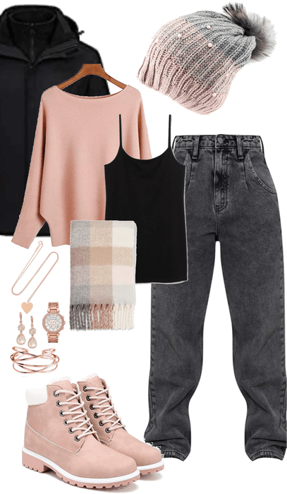 Rosé Gold Layers