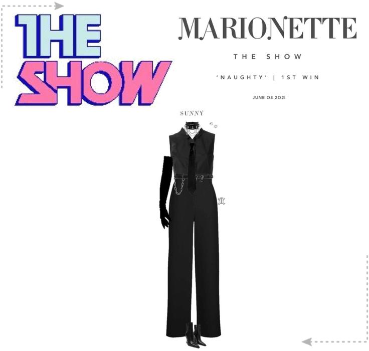마리오네트 (MARIONETTE) - [THE SHOW] 'NAUGHTY' | 1ST WIN