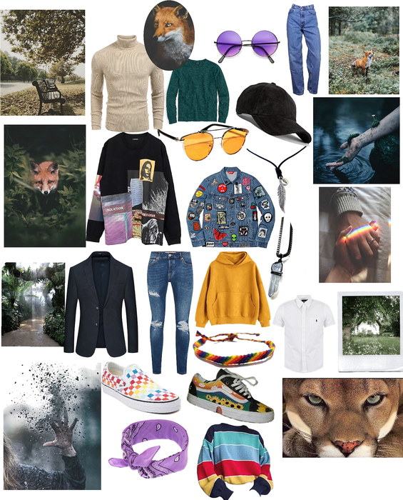fox mood board