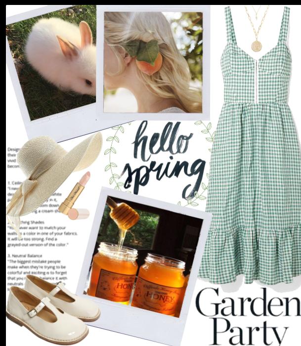SPRING 2020: Garden Party Midi-Dress