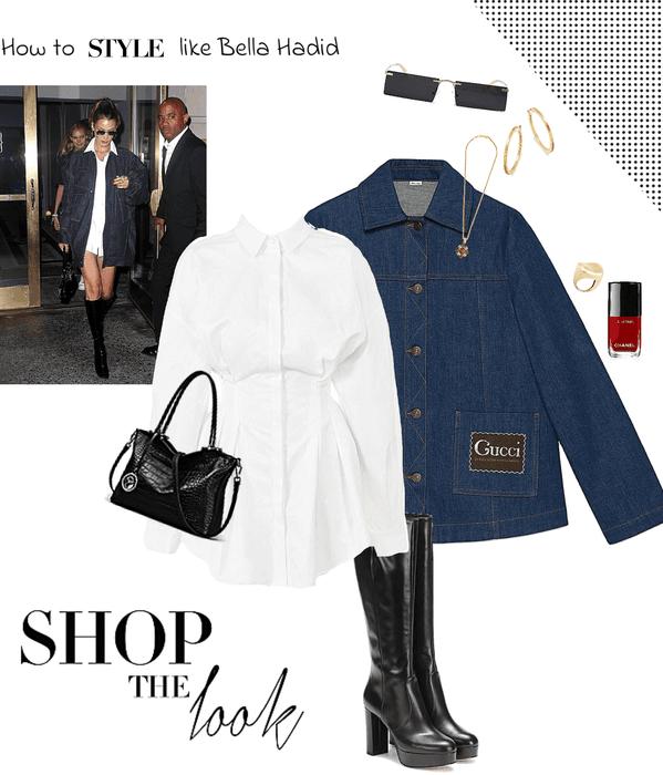 How to style like Bella Hadid 1