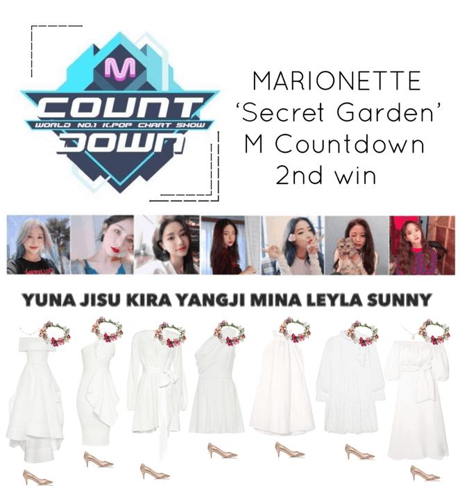 {MARIONETTE} M Countdown 'Secret Garden' 2nd win