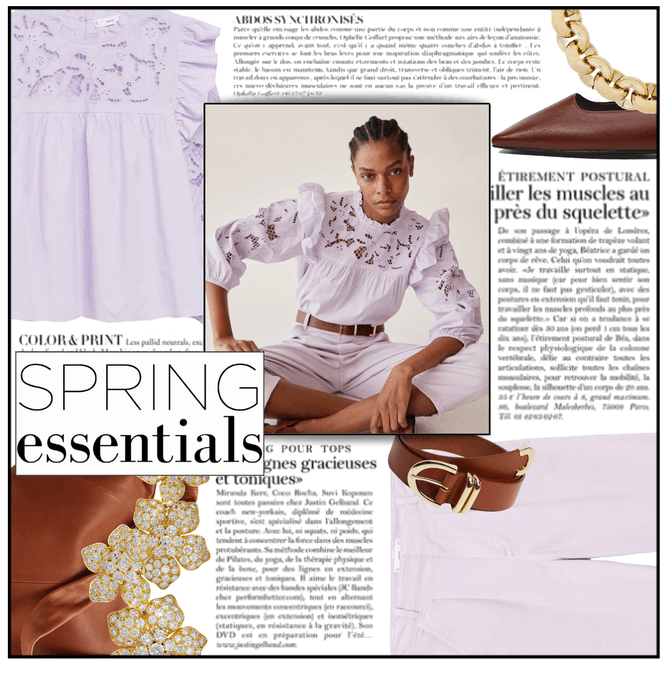 Fashion File: Spring Street Style (Lilac & Brown) - Contest