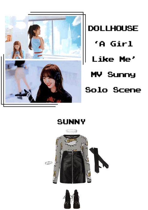 {DOLLHOUSE} 'A Girl Like Me' MV Sunny Solo Scene