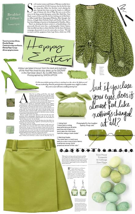 green easter.