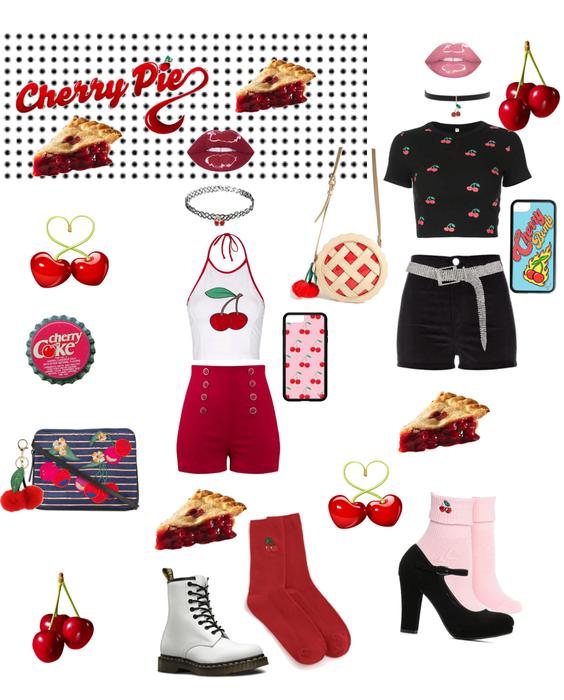 Cherry Pie 🥧 ❤️🍒🧡