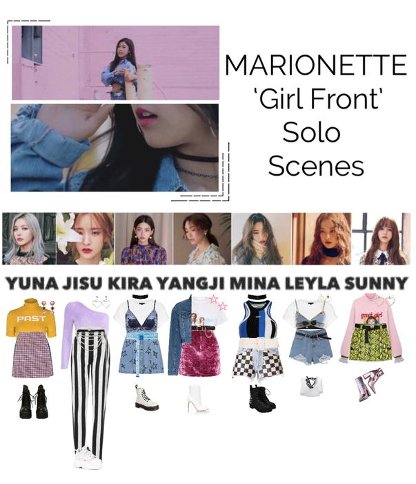 {MARIONETTE} 'Girl Front' M/V Solo Scenes