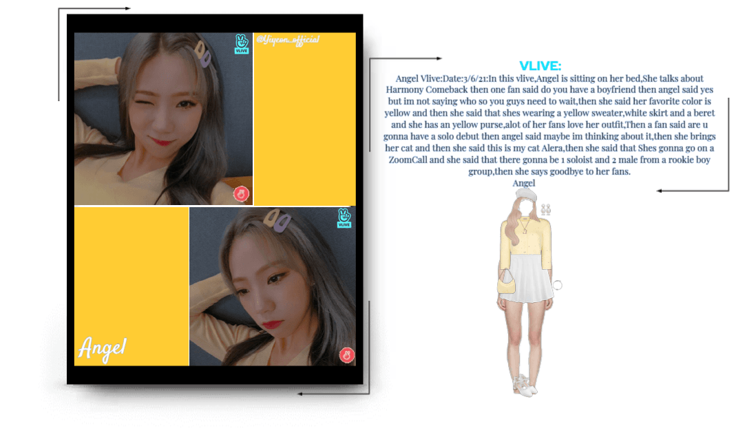 Angel Vlive Outfit-3-6-21