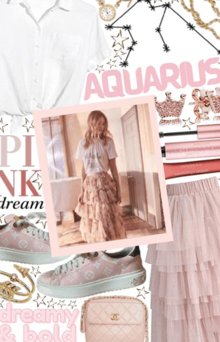 Aquarius: Dreamy Pink