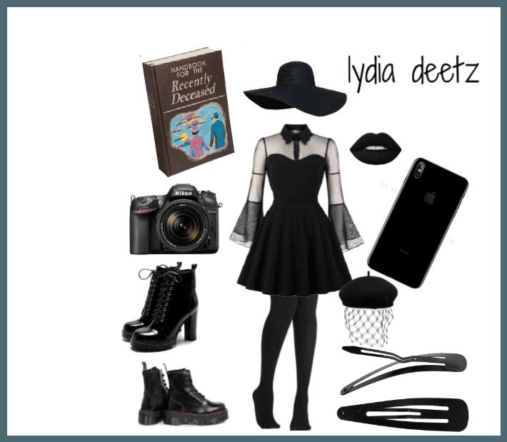 Lydia Deetz Diy Costume Outfit Shoplook