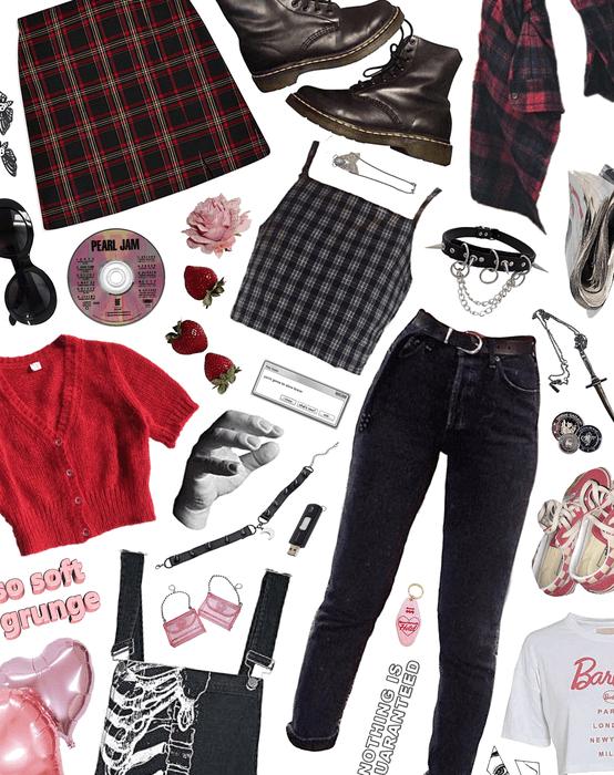 capsule wardrobe : sweet punk